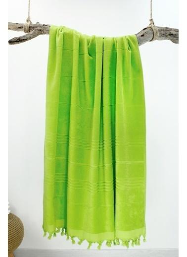 Bedinn N 90 X 180 Cm Pamuk Ipliği Yıkanabilir Fıstık I Peştemal Havlu Yeşil